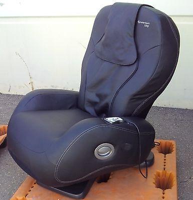 Showroom iJoy HT 2720 Black Human Touch Robotic Massage Chair Recliner i Joy