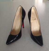 Christian Louboutin size 36 black patent leather $650 Earlville Cairns City Preview
