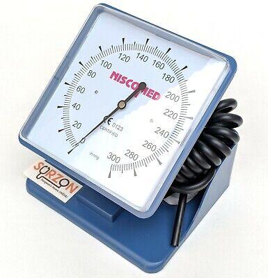 Professional Aneroid Table Top Blood Pressure Monitor Clock Sphygmomanometer