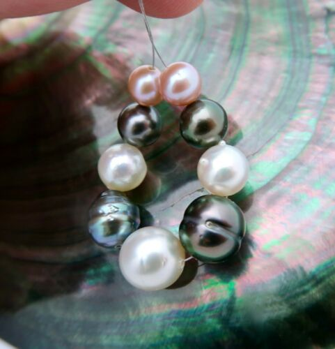 JAPAN AKOYA, FRESHWATER EDISON, SOUTH SEA & TAHITIAN MULTI COLOR CULTURED PEARLS