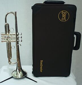 Schilke S42 Silver Professional Bb Trumpet with Hard Case
