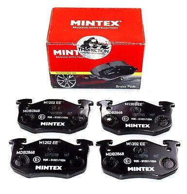 MINTEX REAR AXLE BRAKE PADS FOR CITROEN PEUGEOT MDB2868 (REAL IMAGE OF PART)
