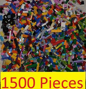 LEGO BULK - 1500 PCS NEW VARIOUS BRICKS/PLATES/BUILDING BLOCKS/TYRES/DOOR/WINDOW