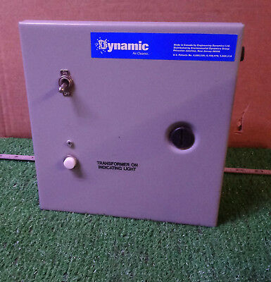 1 New Hoffman Ahe8x8x4 Cutout Box W Hammond Transformer Ph50jg Nnb