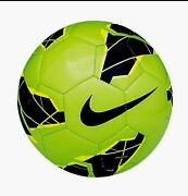 Green Nike Soccer Ball