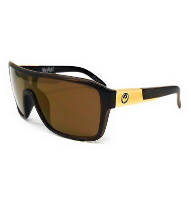DRAGON Sunglasses REMIX 2 229 Matte Woodgrain Shield Unisex 68x22x140
