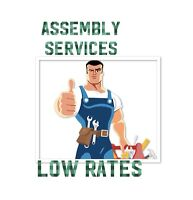 JOURNEYMAN ASSEMBLY SERVICES AT LOW RATES..24/7