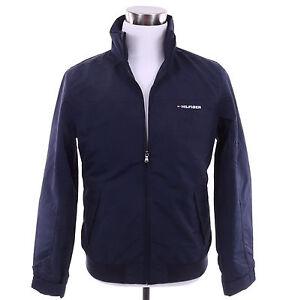 tommy hilfiger men logo yacht rain wind full zip jacket. Black Bedroom Furniture Sets. Home Design Ideas