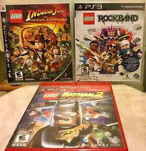 PS3 LEGO game lot