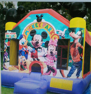Mickey Mouse Club House - Commercial Grade Jumping Castle