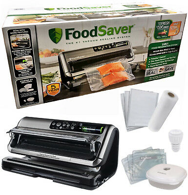 FoodSaver 5400 Series 2-in-1 Vacuum Preservation Sealer Set w/ Express Bag Maker