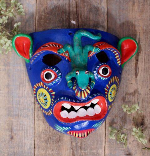 Tastoan or Nagual Mask by Ortega Handmade Mexican Folk Art Barro Betus Pottery