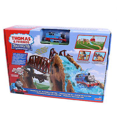New Fisher-Price Thomas & Friends Trackmaster Motorized Action Canyon Train Set