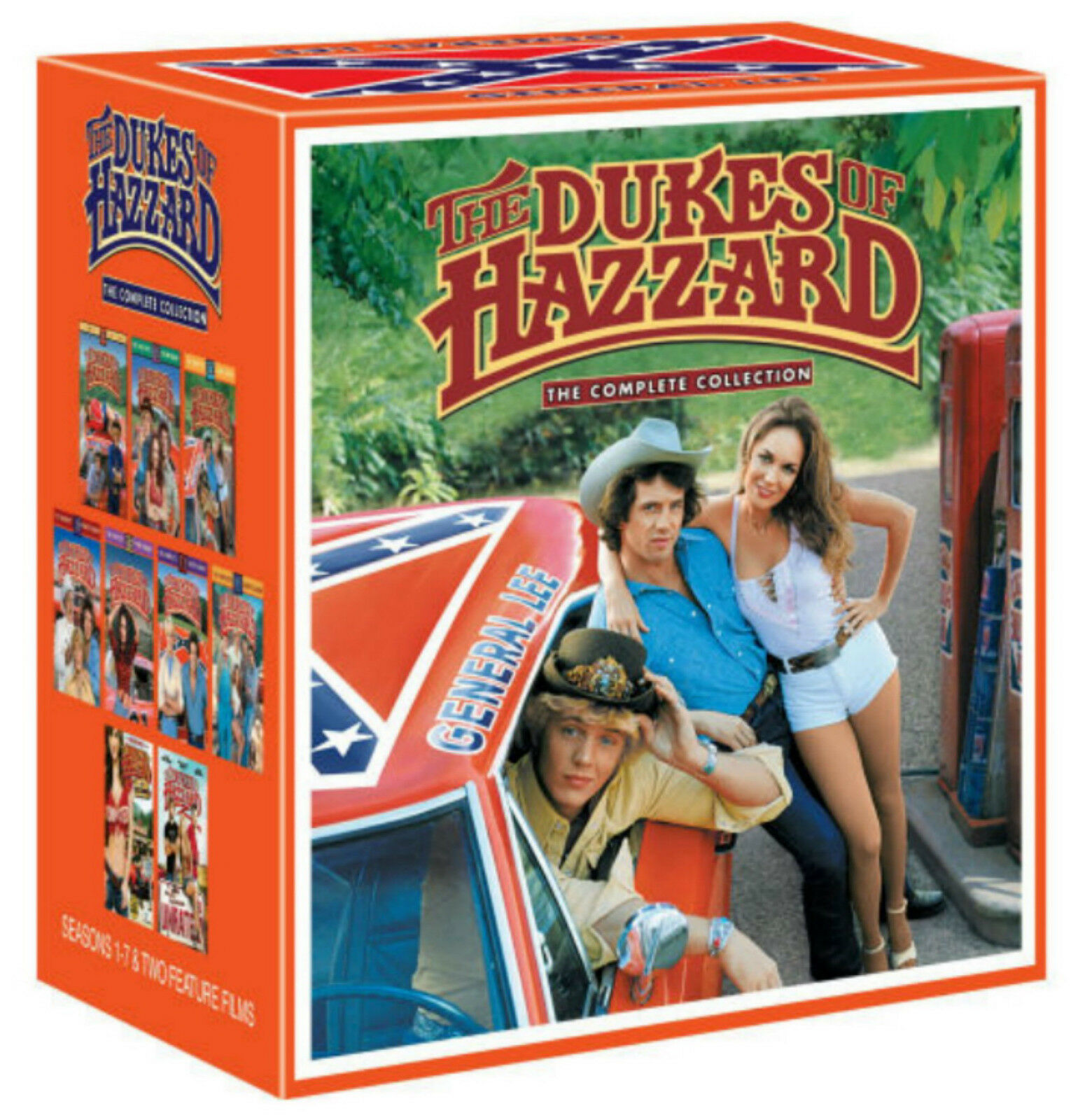 Купить Dukes of Hazzard The Complete Series Season 1 - 7 +2 Movies DVD Gift Box Set NEW