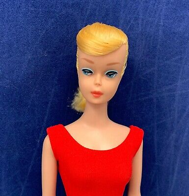 VINTAGE BARBIE 1964-65 BLONDE SWIRL PONYTAIL #850 DOLL W/ OSS