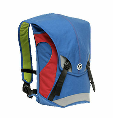 Crumpler The Seedybar SE-08A Messenger Bag Backpack(royal blue/red)
