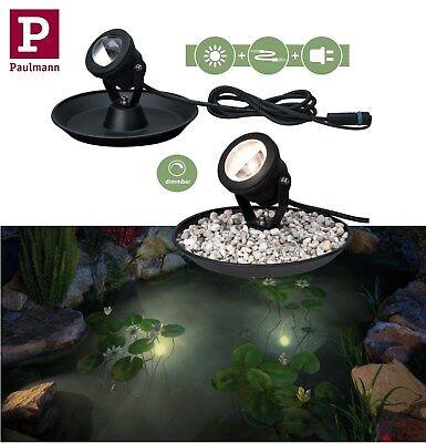 Paulmann Plug & Shine Underwater Spotlight IP68 3000K 4W 24V schwenk / dimmbar