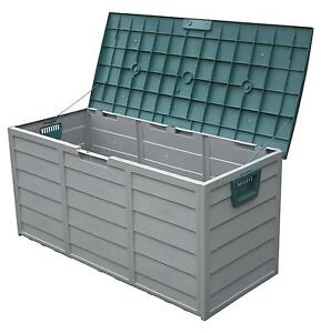 Plastic Garden Storage Boxes  sc 1 st  eBay : waterproof outdoor storage box  - Aquiesqueretaro.Com