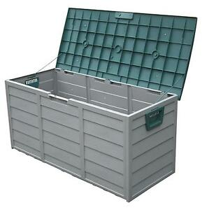Garden Storage Box Waterproof Storage Boxes eBay