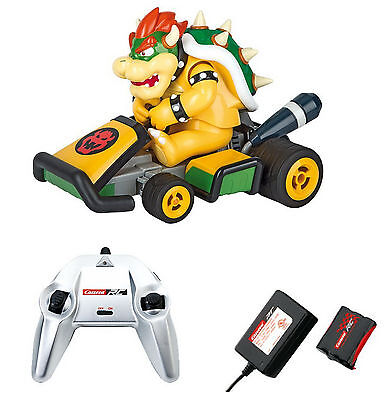 New Carrera Remote Control Rc 2 4 Ghz Mario Kart 7 Big Browser 1 16 Gift Set