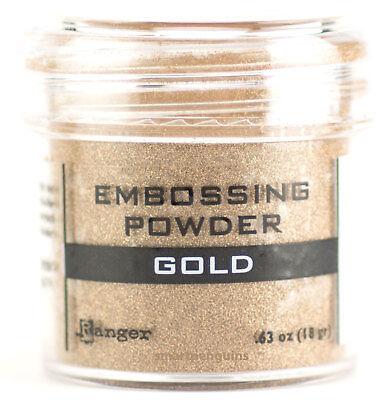 Ranger Embossing Powder Gold Acid Free Non Toxic Rubber Stamping