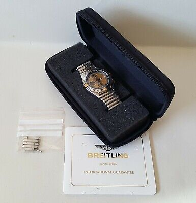 Men's Breitling Chronomat Automatic Chronograph + Case & Guarantee Booklet GWO