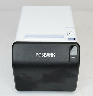 POSBANK A11 Thermal Receipt Printer WhiteNO CABLES Open Box