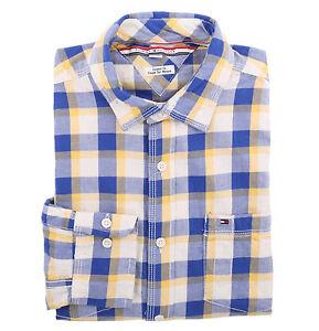 Tommy hilfiger men long sleeve custom fit button down for Custom long sleeve button down shirts