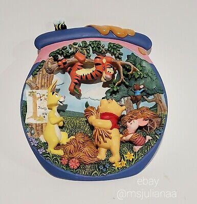 "Winnie the Pooh's Hunnypot Adventures Plate ""Tigger's Tangle"" Bradford Tigger"