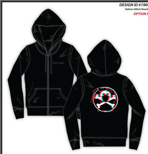 DEF CON is canceled SAFEMODE Glitch Hoodie Unisex