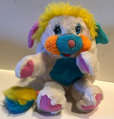 Vintage Popples 1985 White Those Characters from Cleveland Plush toy doll 80s