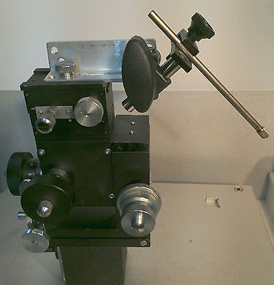 Narishige Mx-4l 33 Coarsefine Xyz Patch Clamp Micromanipulator Tilt Magn. Base