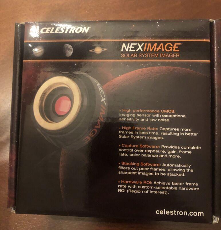 New- Unused - Celestron NexImage 10MP Solar System Imager