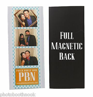 250 Magnetic Photo Booth Frame 2x6 picture Magnet frame vinyl