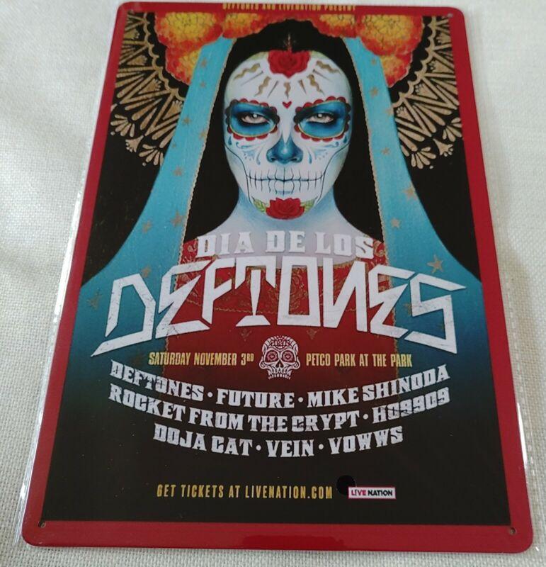 Deftones Rock Band Wall Sign