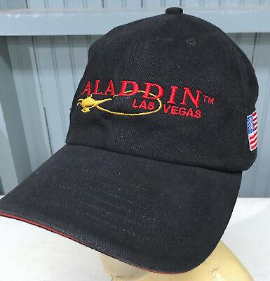 Aladdin Casino Hotel Las Vegas Strapback Baseball Cap Hat ()