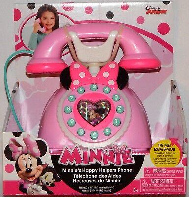 Używany, Minnie Mouse Happy Helpers Phone - (Damaged Packaging) - 89355 na sprzedaż  Wysyłka do Poland