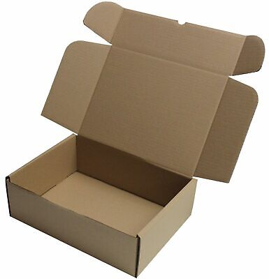 30 x BROWN SHIPPING BOXES POSTAL GIFT PACKET SMALL PARCEL SIZE: 10