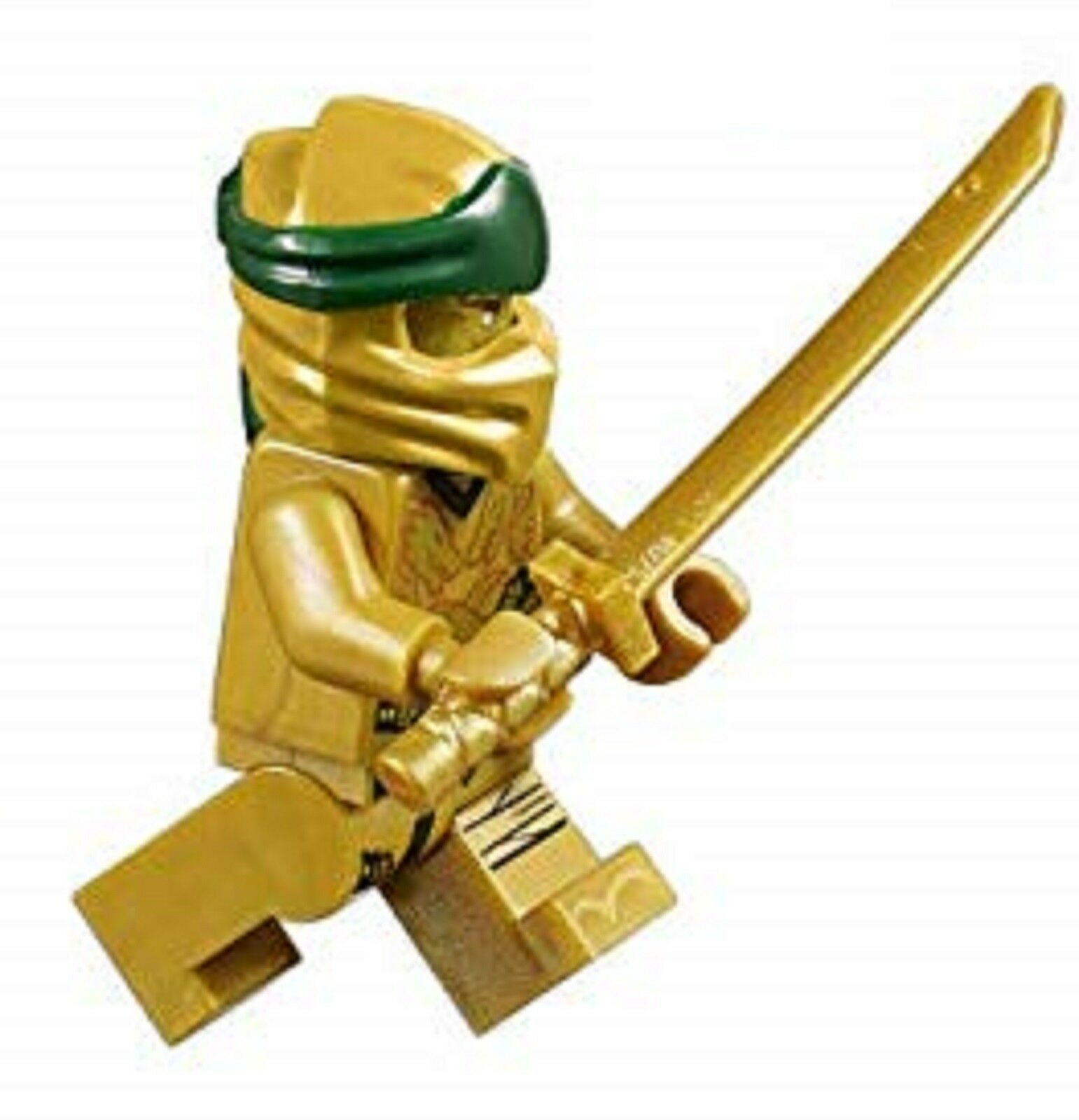 sword katana 70666 authentic LEGO Ninjago Golden Ninja Lloyd minifigure