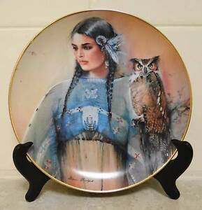 Native American Indian Maiden Plates, Limited Editions Nollamara Stirling Area Preview