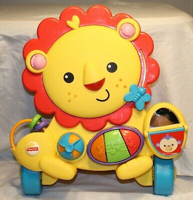 Fisher Price Musical Lion Walker, Learning Toy