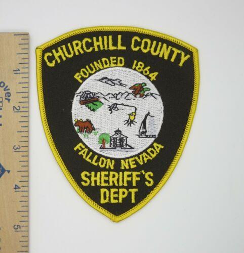 CHURCHILL COUNTY FALLON NEVADA SHERIFF
