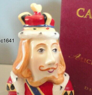Dept 56 Candle Crown Snuffer KING OF HEARTS Alice in Wonderland NEW IN BOX - King Of Hearts Crown