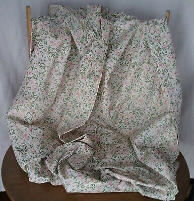 Pair of New Vintage Dorma Country Diary Collection Honeysuckle Curtains