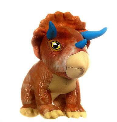 "NEW OFFICIAL 10"" JURASSIC WORLD SOFT PLUSH TOY TRICERATOPS"