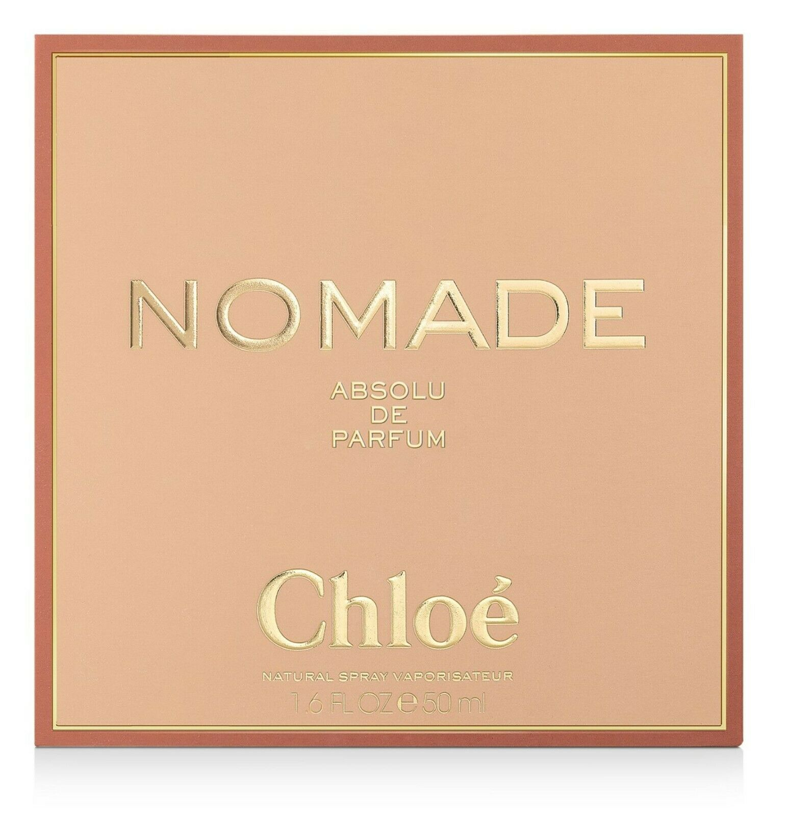 CHLOE NOMADE ABSOLU DE PARFUM 50 ml e 1.6 FL.OZ - NEW 2020 SEALED 100% AUTHENTIC