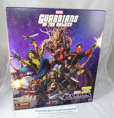 Marvel Legends EE Exclusive Guardians of the Galaxy Classic 5 Pack Box Set MISB