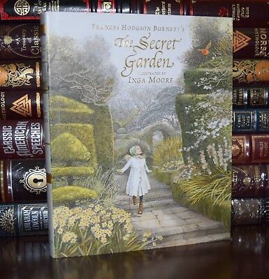 Secret Garden by Burnett Illustrated by Inga Moore Collectible Hardcover Classic