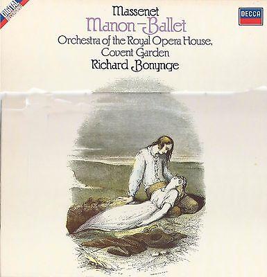 Massenet Manon Ballet. Royal Opera House 2LP, Richard Bonynge. Decca 414 585 1