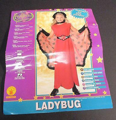 Rubies Lady Bug Halloween Costume Kids Large (Halloween-kostüm Lady Bug)